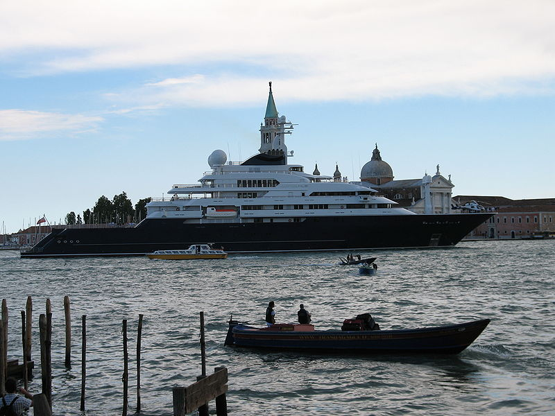 The Yacht Is Owned By Other Microsoft Honcho It Fifth Largest Superyacht