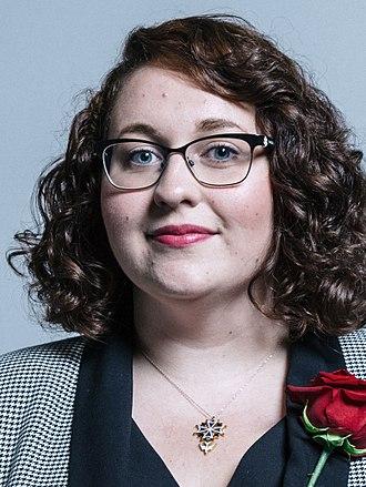 Danielle Rowley - Official Parliamentary portrait, June 2017