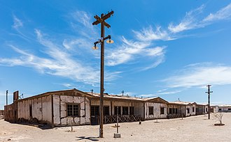 Humberstone and Santa Laura Saltpeter Works - Image: Oficinas salitreras de Humberstone y Santa Laura, Chile, 2016 02 11, DD 52