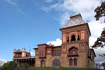 Olana Mansion, Hudson, New York, USA