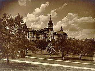 Main Building (University of Texas at Austin) - The university's Old Main Building in a 1903 photo.