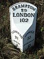 Old Milepost - geograph.org.uk - 1568809.jpg