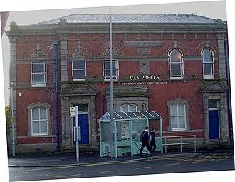 Leyland, Lancashire - Image: Old Police Station Leyland (1)