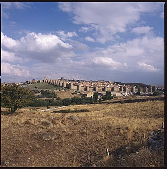 Ávila, Spain - Main walls of Ávila.