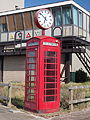 Old telephonebooth with clock at IJmuiden pic2.JPG