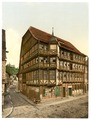 Old town hall and castle, Wernigerode, Hartz, Germany-LCCN2002713844.tif