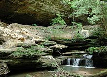 Old Man S Cave Store : Hocking hills state park wikipedia