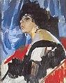 Oleksandr Murashko. The Woman in Black. Олександр Мурашко. Жінка в чорному.jpg