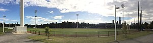 Olympic Park Oval - Panorama of Olympic Park Oval from the north east corner of the ground