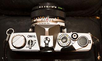 Olympus OM-1 - Olympus OM-1n with 50mm / f1.8 lens