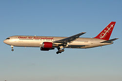 Boeing 767-300ER der Omni Air International