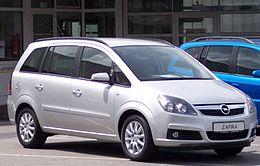 Schema Elettrico Opel Zafira : Opel zafira b wikipedia