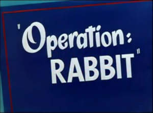 Operation: Rabbit - The title card of Operation: Rabbit.