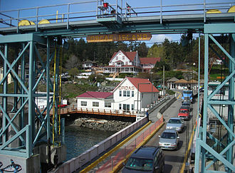 Orcas Island - ferry landing at Orcas