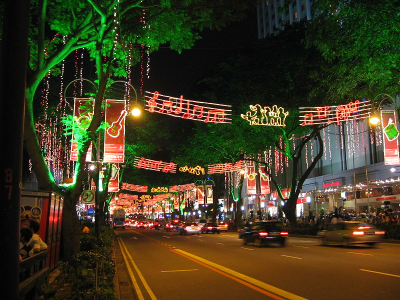 Datei:Orchard Road light up Xmas 2005.JPG