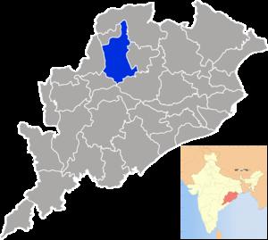 Sambalpur district - Image: Orissa Sambalpur