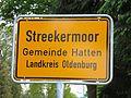 Ortsschild Streekermoor.JPG