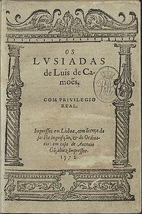 <i>Os Lusíadas</i> epic poem by Luís de Camões