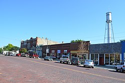 Business district of Oskaloosa (2014)