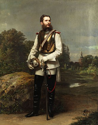 Frederick III, German Emperor - Crown Prince Frederick William of Prussia, 1867, by Oskar Begas