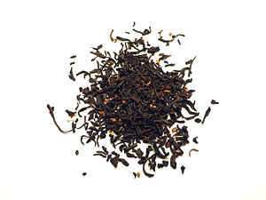 Tea blending and additives - Chinese osmanthus black tea