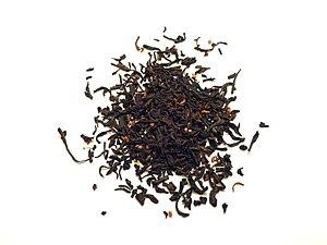 Tea blending and additives - Chinese osmanthus black tea