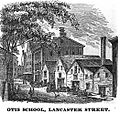 OtisSchool LancasterSt Boston HomansSketches1851.jpg