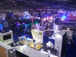 PLASA Show - View of PLASA 2013 in ExCeL