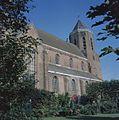Overzicht van de zuidgevel met kerktoren - Poortvliet - 20384031 - RCE.jpg