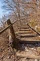 Pörtschach Leonstein Gloriette-Wanderweg W-Aufgang Treppe 30012018 2596.jpg