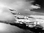 P-38 Lightnings of the 15th Air Force in formation over Yugoslavia.jpg
