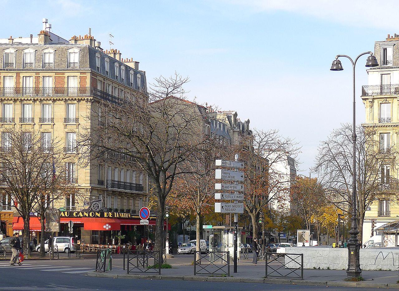 File p1060449 paris xii rue du faubourg saint antoine - Paris rue du faubourg saint antoine ...