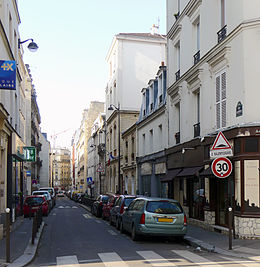 Image illustrative de l'article Rue de Saussure