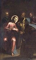 PALMA Jacopo (le jeune) Le Christ parmi les docteurs.jpg