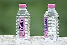 PET Plastic Bottle Water