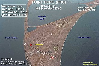 Point Hope Airport - Image: PHO h