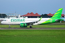 Citilink wikipedia one of citilinks airbus a320neo at soekarnohatta international airport reheart Image collections