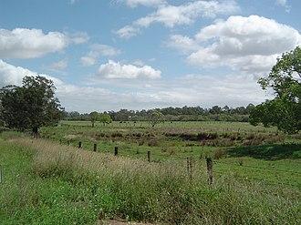 Stapylton, Queensland - Paddocks along Bruckner Road, 2014