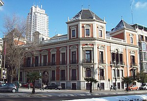 Museum Cerralbo - Image: Palacio del Marqués de Cerralbo (Madrid) 01