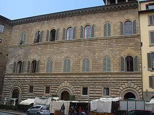 Jacopo Salviati - Palazzo Gondi, Piazza della Signoria, Florence, residence of Salviati's mother, of Madddalena Gondi.