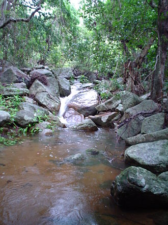 Palm Island, Queensland - Palm Island Swimming hole – 'Palm Valley'