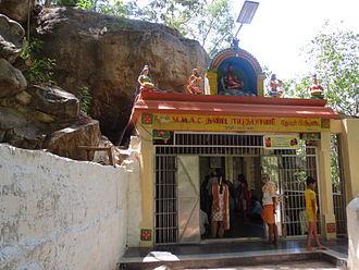 Siddhar - Pambatti Siddhar Pambatti Siddhar Sannidhi at Marudamalai Temple