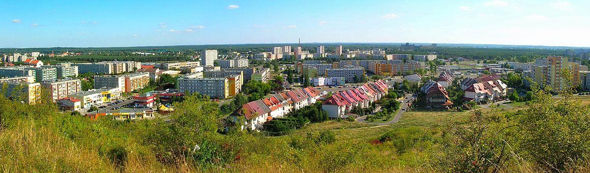 Polski: Fragment dzielnicy Fordon