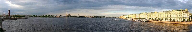 File:Panorama of Saint Petersburg from Palace Bridge.jpg