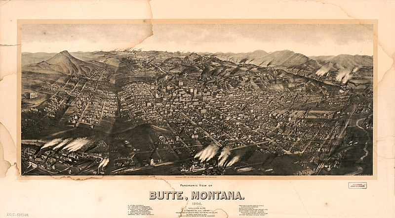 File Panoramic view of Butte Montana 1904 population 60 000