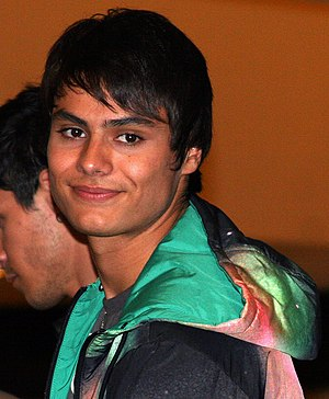 Kiowa Gordon - Gordon at a The Twilight Saga: New Moon promotional appearance in Houston, Texas on November 10, 2009