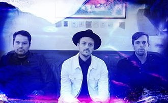 Paper Route (band) - Nick Aranda, JT Daly and Chad Howat in 2015