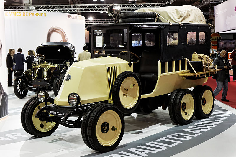 Fichier:Paris - Retromobile 2013 - Renault six roues type MH - 1924 - 102.jpg