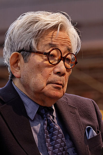 File:Paris - Salon du livre 2012 - Kenzaburō Ōe - 003.jpg