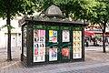 Paris 75001 Place Joachim-du-Bellay 20170528 newspaper stand.jpg